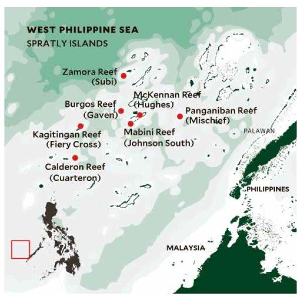 菲律宾Inquirer报(2018.2.6)中共基本完成在南海填岛军事化