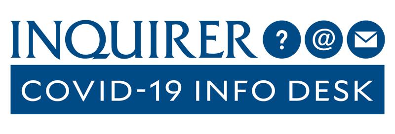 Covid 19 Philippines, Inquirer's info desk logo